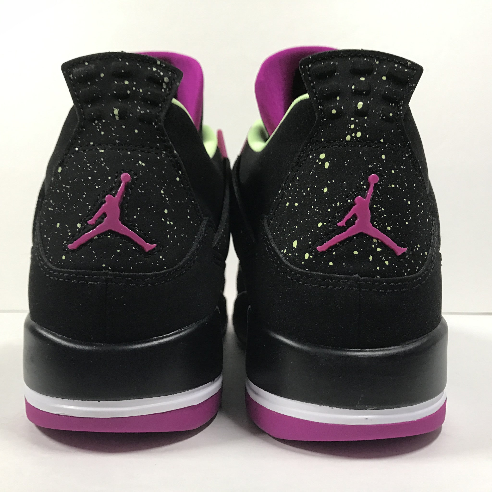 DS Nike Air Jordan 4 IV Retro 30th GG Black/Fuchscia Size 9Y - DOPEFOOT  - 7