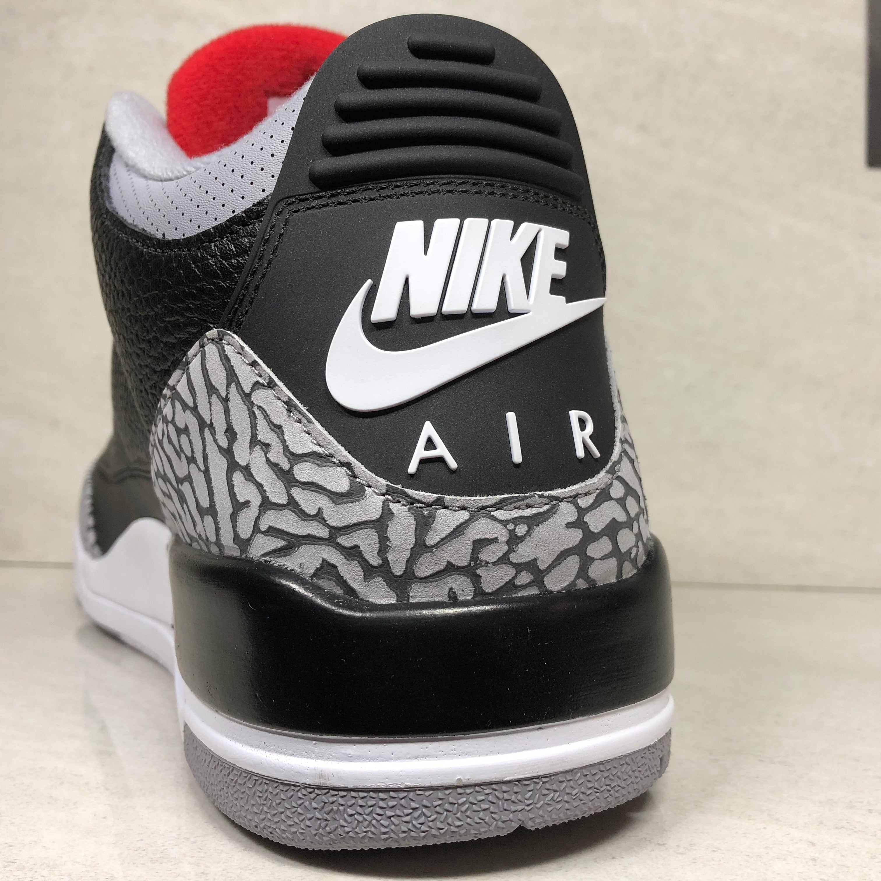 low priced 68075 014b4 DS Nike Air Jordan 3 OG Retro Black Cement 2018 Size 9/9.5/Size 10 -