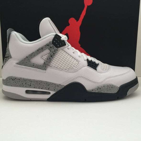 DS Nike Air Jordan 4 Retro OG Cement Size 11/Size 11.5/Size 12/Size 14 - DOPEFOOT  - 1