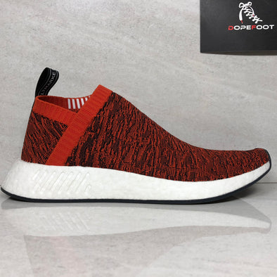 DS Adidas NMD CS2 PK Red Glitch Sample Size 9 Future Harvest/Black BY9406