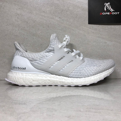 DS Adidas Ultra Boost 3.0 Triple White Size 9/Size 13 BA8841