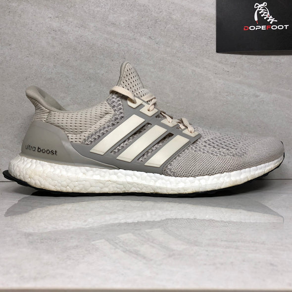 Adidas Ultra Boost Cream Size 12 Chalk 1.0 ltd AQ5559