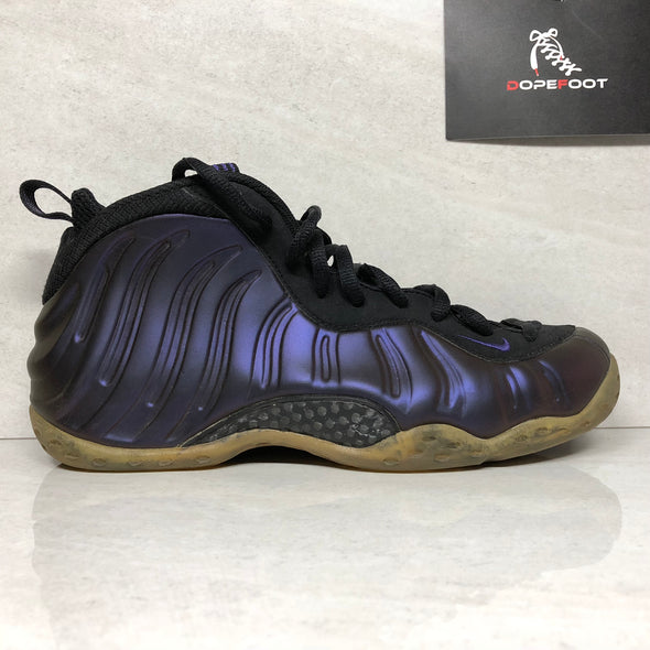 Nike Air Foamposite One Eggplant Size 9.5 Black 314996 051