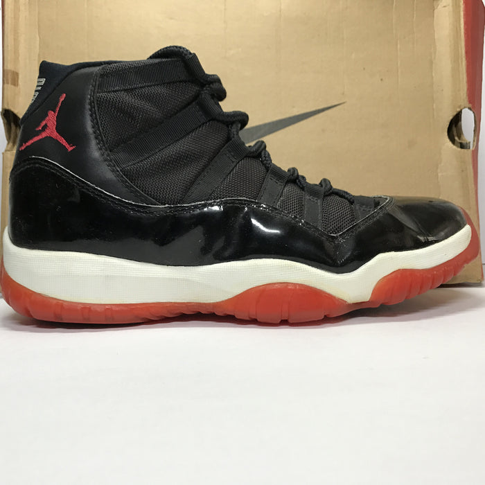 DS Original 1996 Nike Air Jordan 11 XI Bred OG Size 10.5