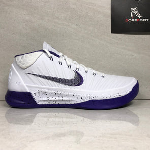 DS Nike Kobe A.D. Size 9.5/Size 10 White/Purple 922482 100