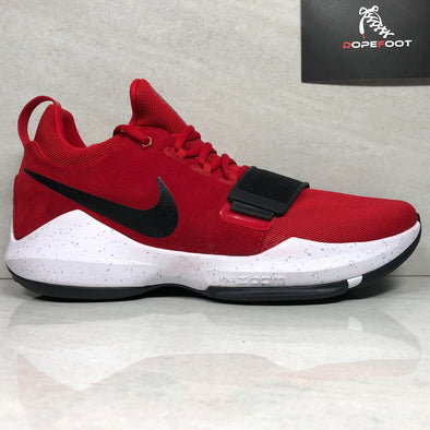 DS Nike PG1 Size 12/Size 13 Red/Black 878627 602