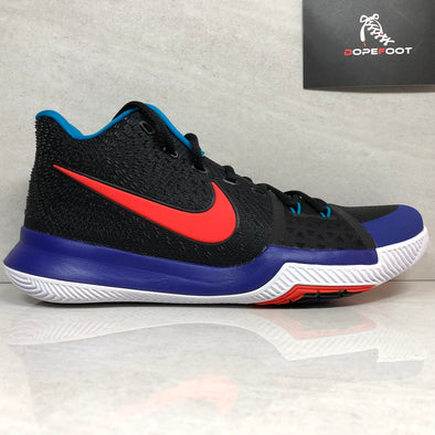 DS Nike Kyrie 3 Size 12/Size 14 Black/Orange 832595 700