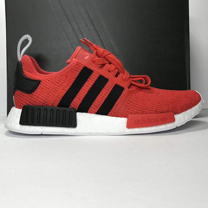 DS Adidas NMD R1 Mesh Black/Red/White Size 10.5