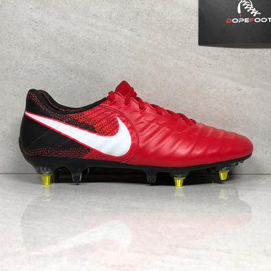 DS Tiempo Legend VII SG Pro-AG Soccer Cleats Size 8.5/9/10.5 Red 917805 616