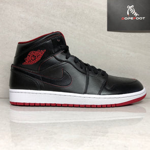 Nike Air Jordan 1 I Mid Lance Mountain Size 10.5/Size 11.5/Size 12 Black/Red 554724 028