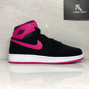 DS Nike Air Jordan 1 Retro High GG Size 8Y/8.5Y Black/Vivid Pink 332148 008