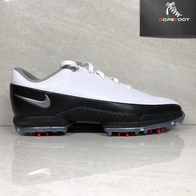 DS Nike Air Zoom Attack Golf Shoes Size 9 White/Black 853739 101