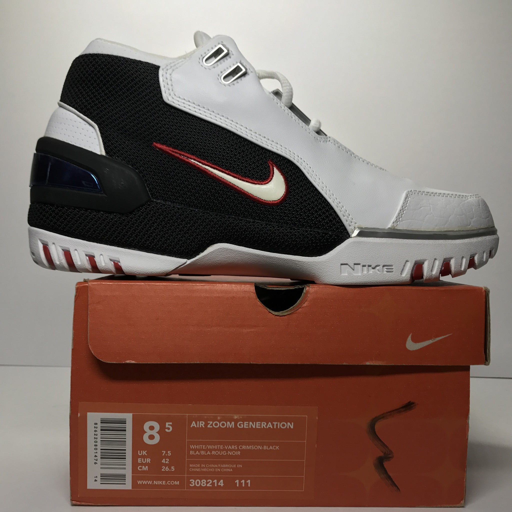 DS Nike Air Zoom Generation Lebron 1