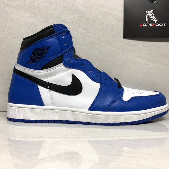DS Nike Air Jordan 1 I High OG Game Royal Size 12 Blue 555088 403