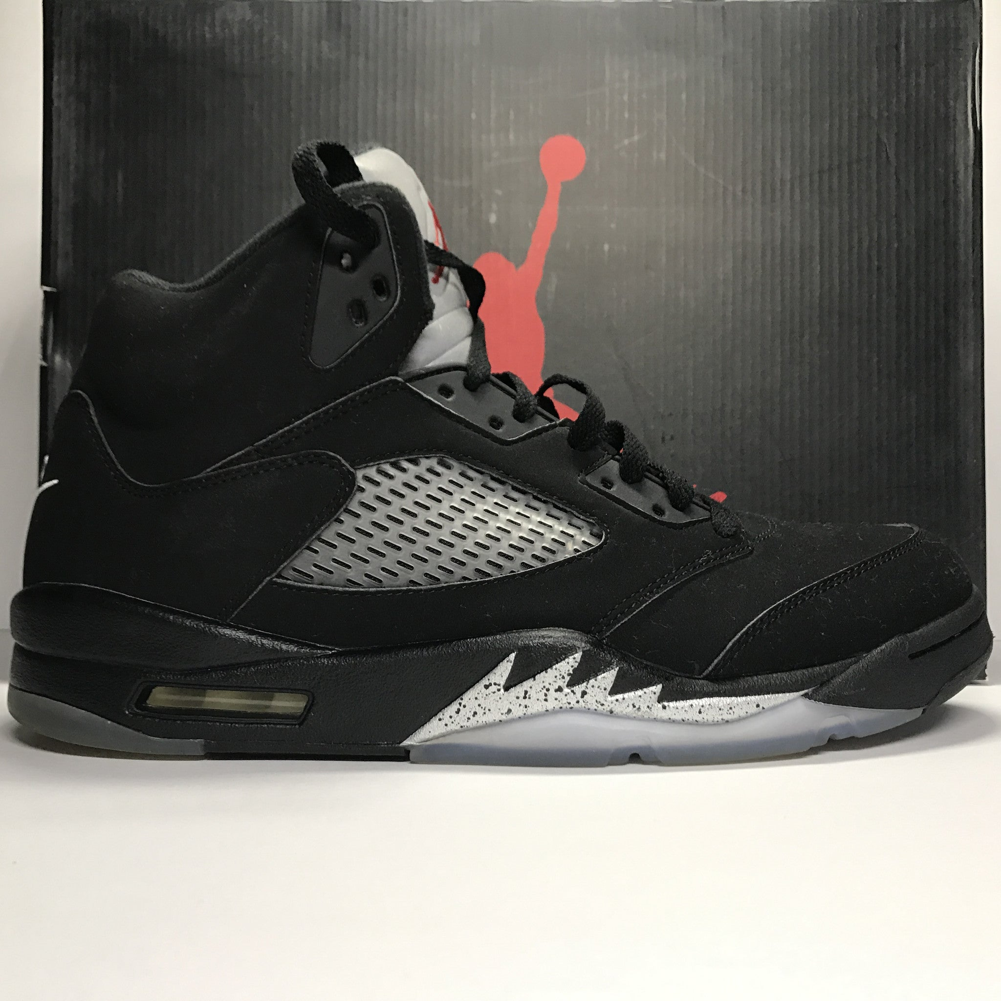 Nike Air Jordan 5 V Retro OG Metallic Black Size 11.5