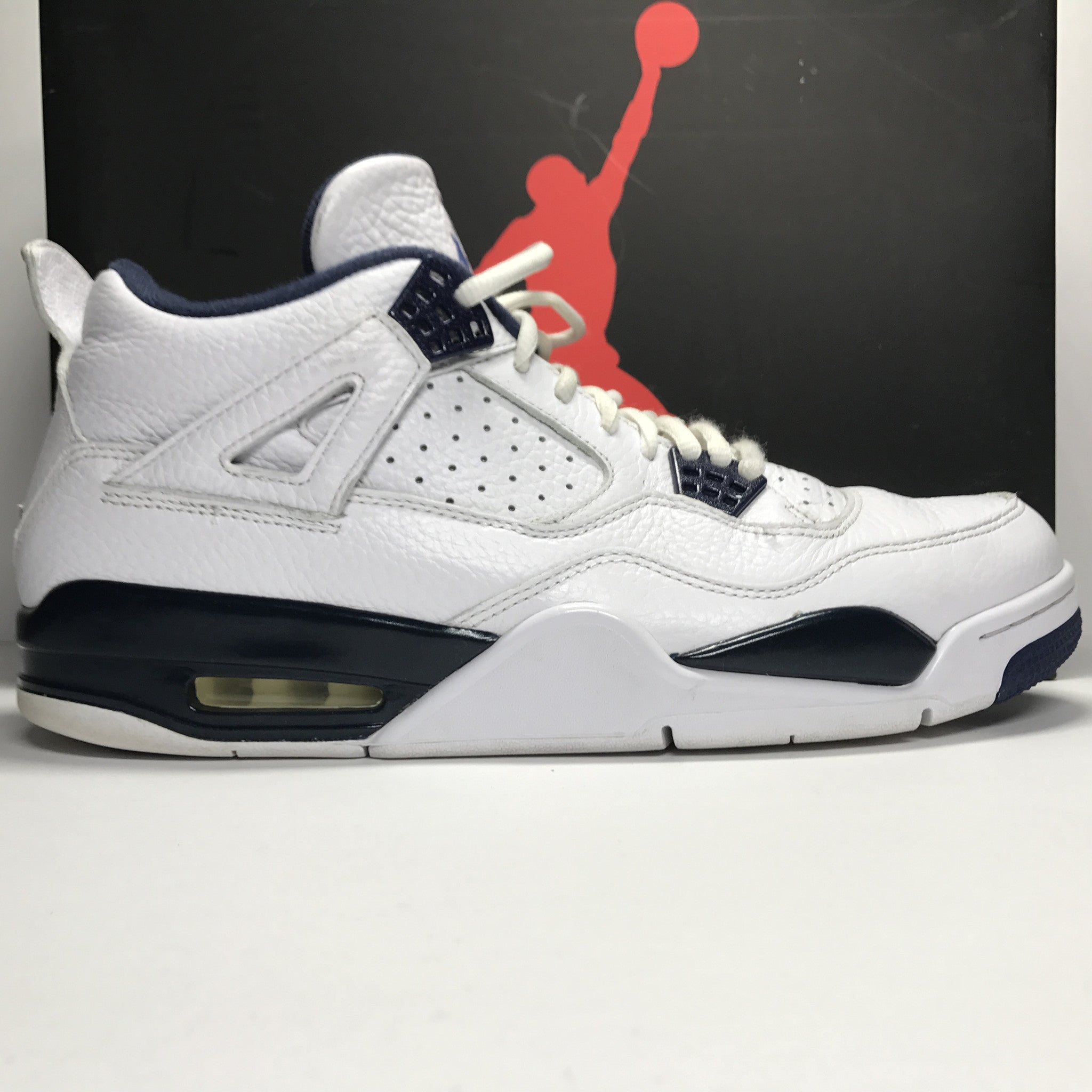 Nike Air Jordan 4 IV Retro LS Legend Blue Size 11.5