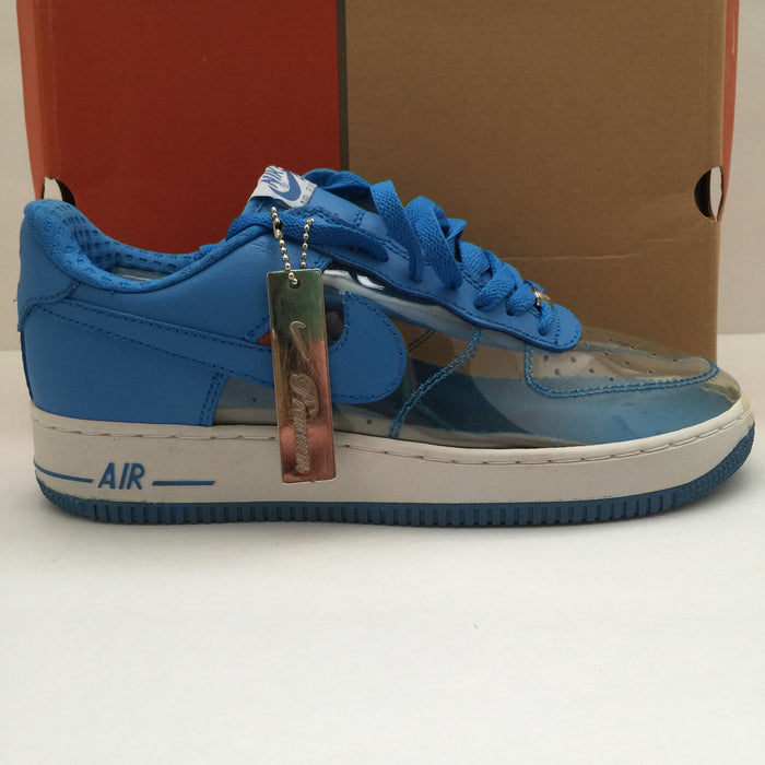 DS Nike Air Force 1 Clear/Light Cyan Size 9 - DOPEFOOT  - 1