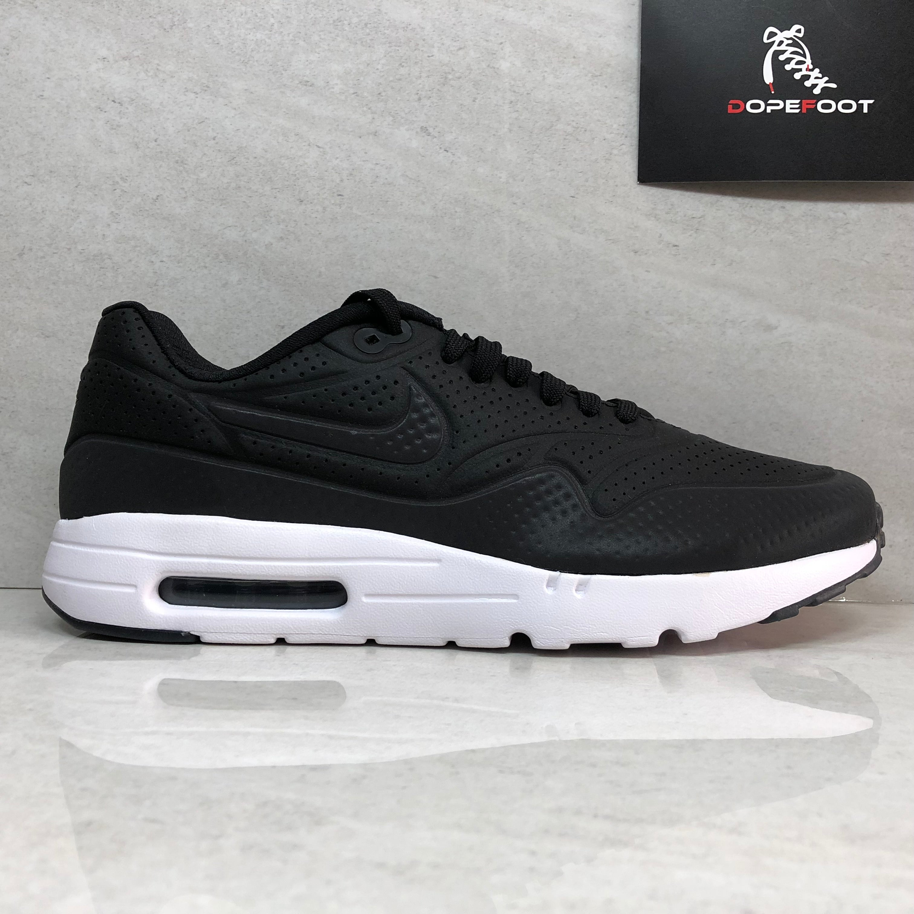 Nike Mens Air Max 1 Ultra Moire 705297-013 Black/White Size 8.5/Size 9.5/Size 10