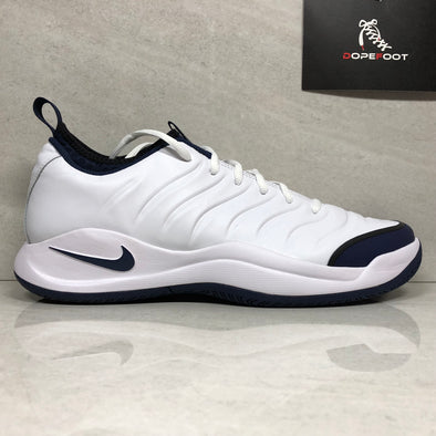 Nike Air Oscillate XX 20th Anniversary Pete Sampras Mens Tennnis Shoes 918195-104 Size 9/9.5/Size 10.5/Size 12 White Navy Black