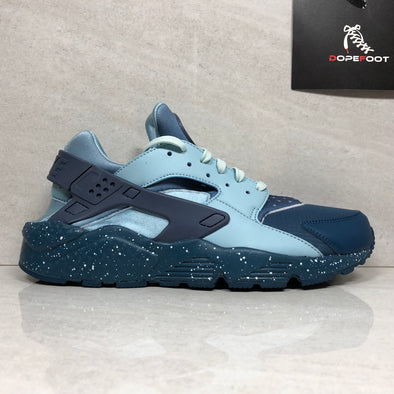 NIKE Air Huarache Run PRM 704830-402 Men's Size 9/Size 10/Size 12 Blue Force/Diffused Blue-Ocean Bliss