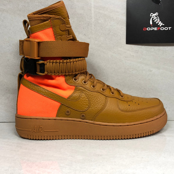 "Nike SF Air Force 1 High ""Desert Ochre"" 903270 778 Men's Size 8/Size 10/Size 11.5/Size 13"