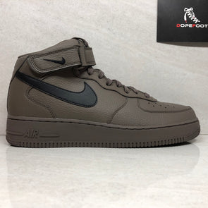 NIKE Air Force 1 Mid '07 Men's Size 10.5 Ridgerock/Black 315123 205