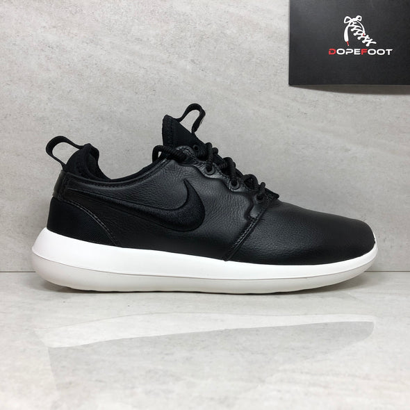 Nike W Roshe Two SI 881187-001 Leather Black-Ivory Women's Size 6.5/Size 7/Size 8/Size 9