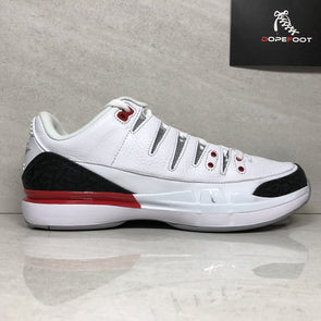 NIKE Zoom Vapor RF x AJ3 709998 106 Men's Size 11.5 Roger Federer White/Fire Red-Silver-Black