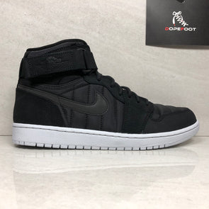 Nike Air Jordan Retro 1 I High Strap 342132-004 Men's Size 8/Size 9/Size 10.5/Size 11/Size 12 Black/Pure Platinum/Anthracite