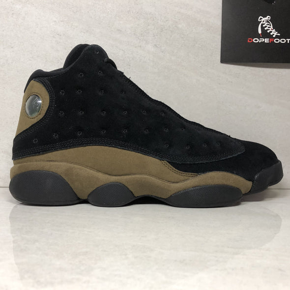 Nike Air Jordan 13 XIII Retro Olive 414571 006 Men's Size 12 Black/Gym Red-light Olive Lifestyle