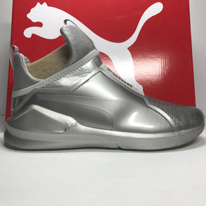 DS Women's Puma Fierce Metallic Silver Size 7
