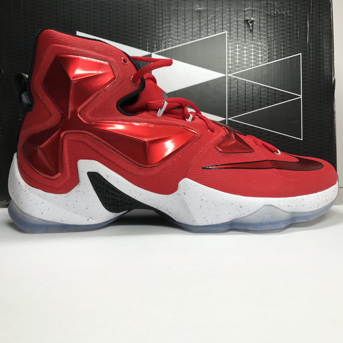 DS Nike Lebron 13 XIII Red/Black/White Size 13
