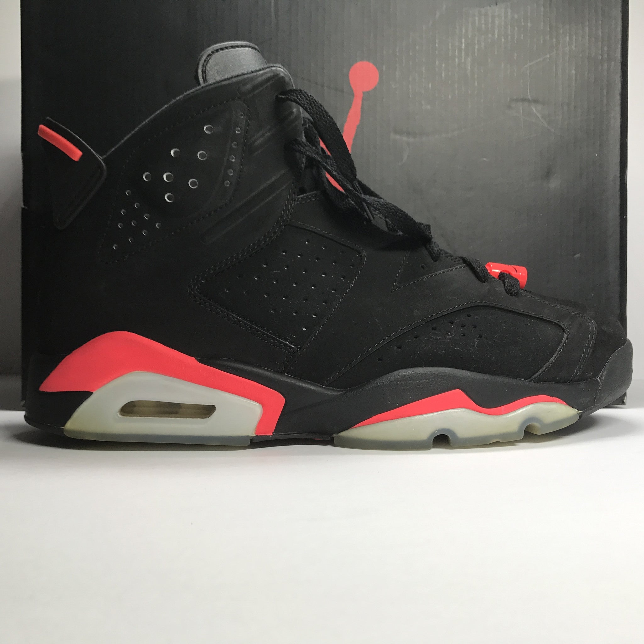 Nike Air Jordan 6 VI Retro Infrared Black Size 10