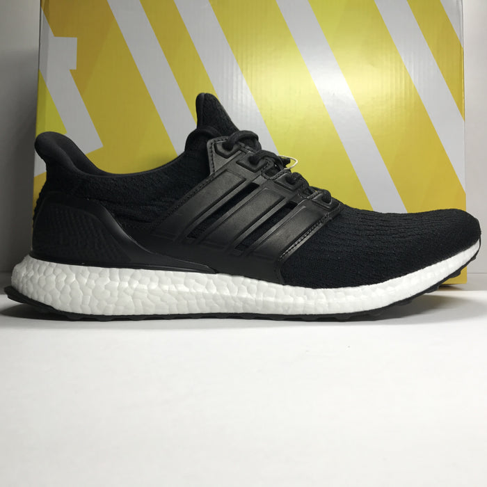 DS Adidas Ultra Boost 3.0 LTD Black Leather Size 13