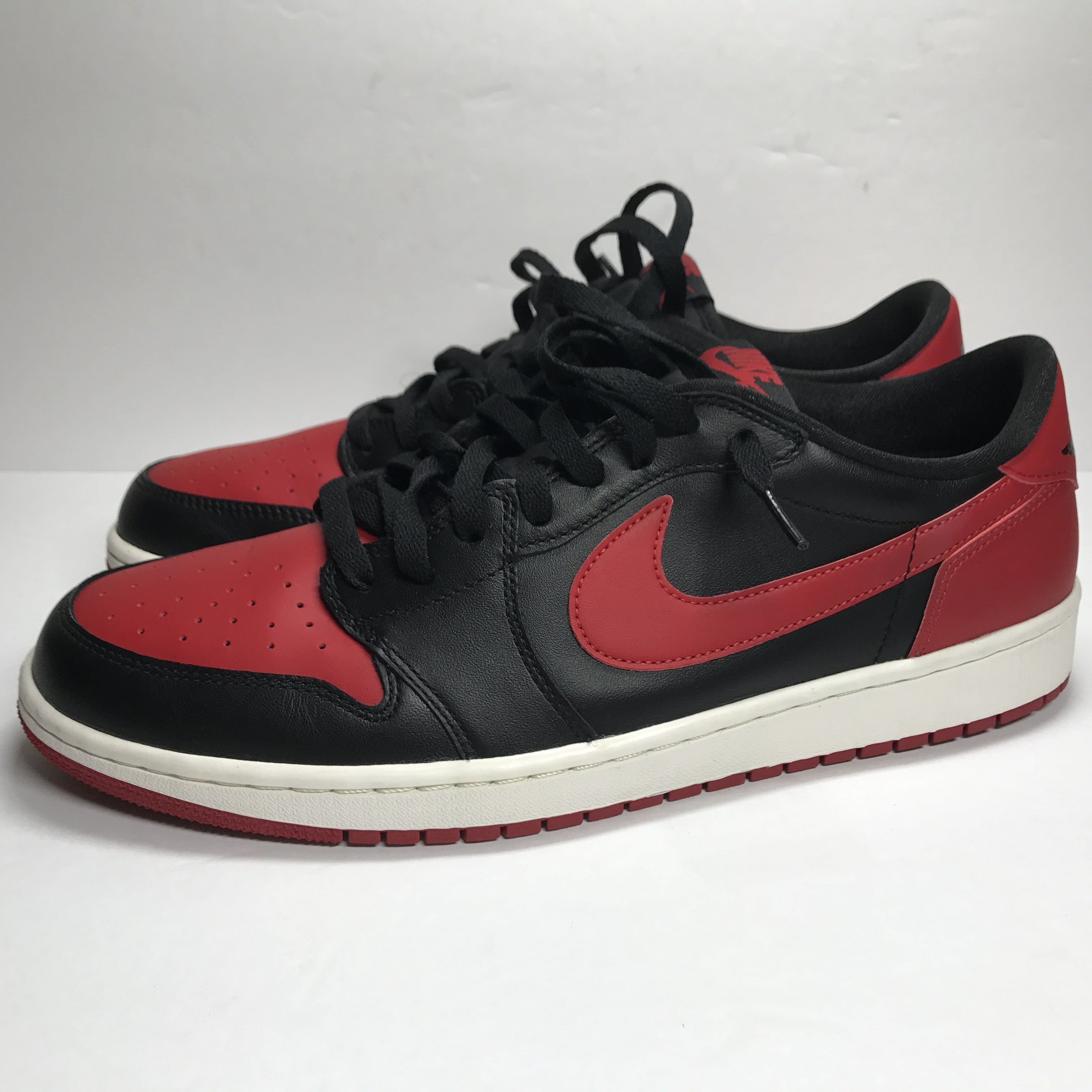 Nike Air Jordan 1 I Retro Low OG Bred Size 13