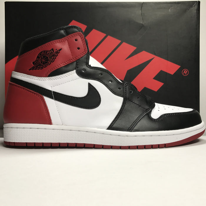 DS Nike Air Jordan 1 I Retro High OG Black Toe Size 11