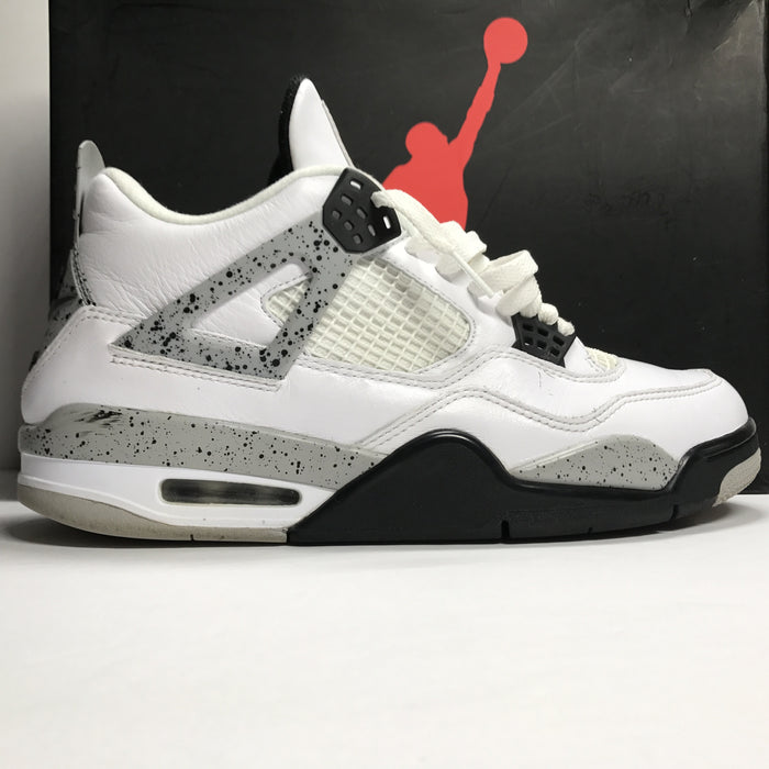 Nike Air Jordan 4 IV Retro OG White Cement Size 11