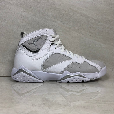Air Jordan 7 VII Retro Pure Money 304775 120Men's Size 8 White/Metallic Silver