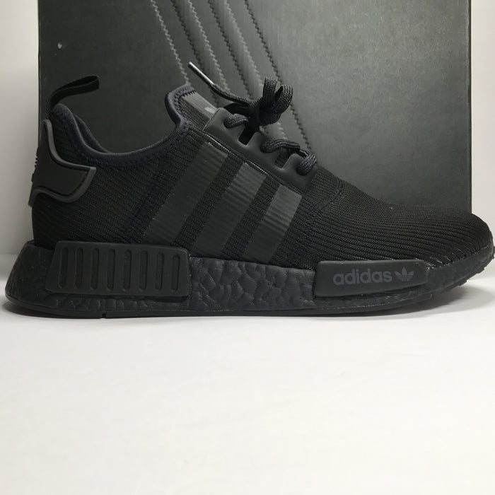 DS Adidas NMD R1 Triple Black 3m Reflective Size 9