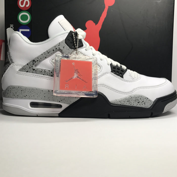DS Nike Air Jordan 4 IV Retro OG White Cement Size 10