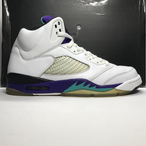 Nike Air Jordan 5 V Retro Grape/White 2006 Size 10.5