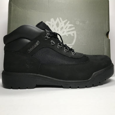 DS Timberland Field Boot F/L WP Black Suede Size 10.5/Size 12/Size 13