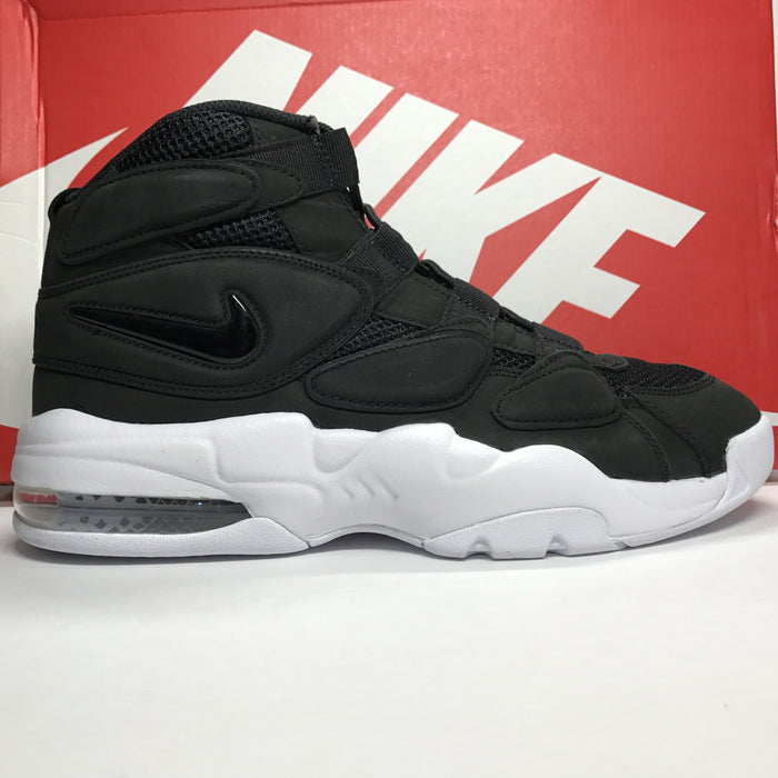DS Nike Air Max 2 Uptempo QS Black White Size 10/Size 12