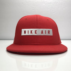 Nike Air Snapback Hat Red 92 White