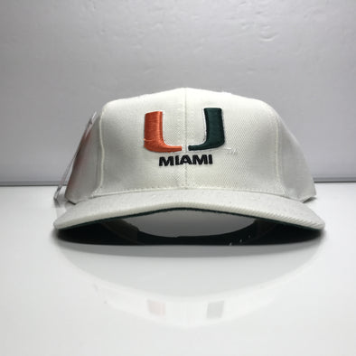 University of Miami Hurricanes Puma Snapback Hat Vintage NCAA U