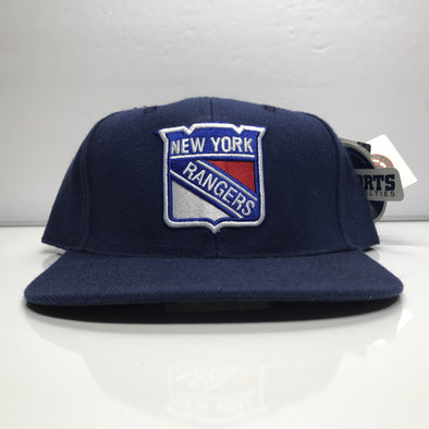 official photos bb5cd 6ea0f ... mitchell ness snapback hats nt81z blue red green under brim c48f5  d8dac  coupon for new york rangers sports specialties snapback hat vintage  nhl 24c9c ...