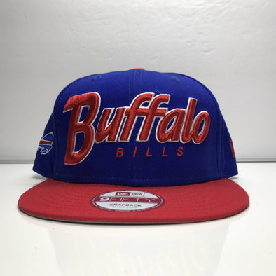 Buffalo Bills Snapback Hat New Era 9Fifty NFL Medium-Large