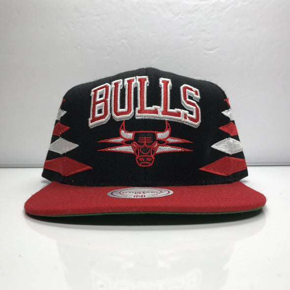 Chicago Bulls Mitchell Ness Snapback Hat Hardwood Classics NBA