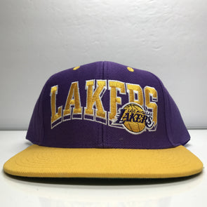 Los Angeles Lakers Adidas Hardwood Classics Snapback Hat NBA