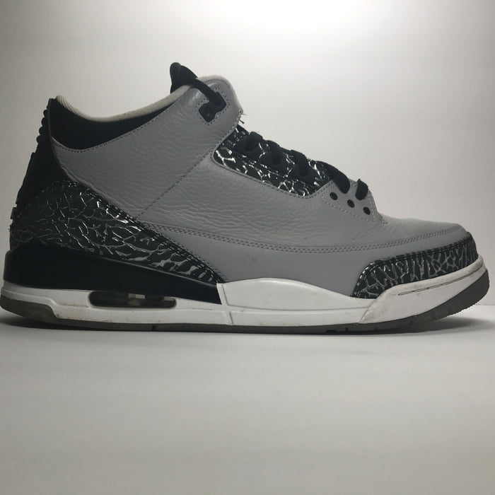 Nike Air Jordan 3 III Retro Wolf Grey Size 15